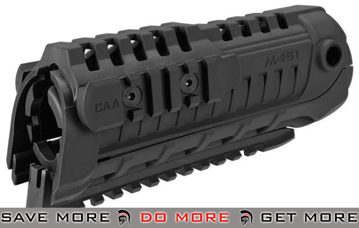 CAA Airsoft M4S1 Handguard Rail System (Color: Black) Hand Guards- ModernAirsoft.com