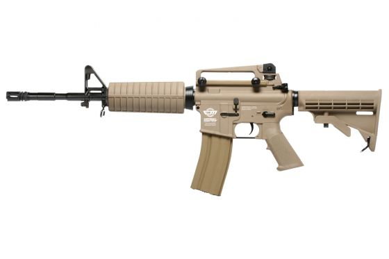 G&G Combat Machine M4 Carbine Airsoft AEG Rifle (Tan)