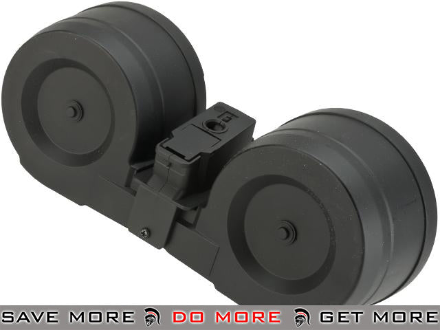 Matrix 2500rd Electric Auto Winding C-Mag for AK Series Airsoft AEG (With Sound Control) Electric Gun Magazine- ModernAirsoft.com