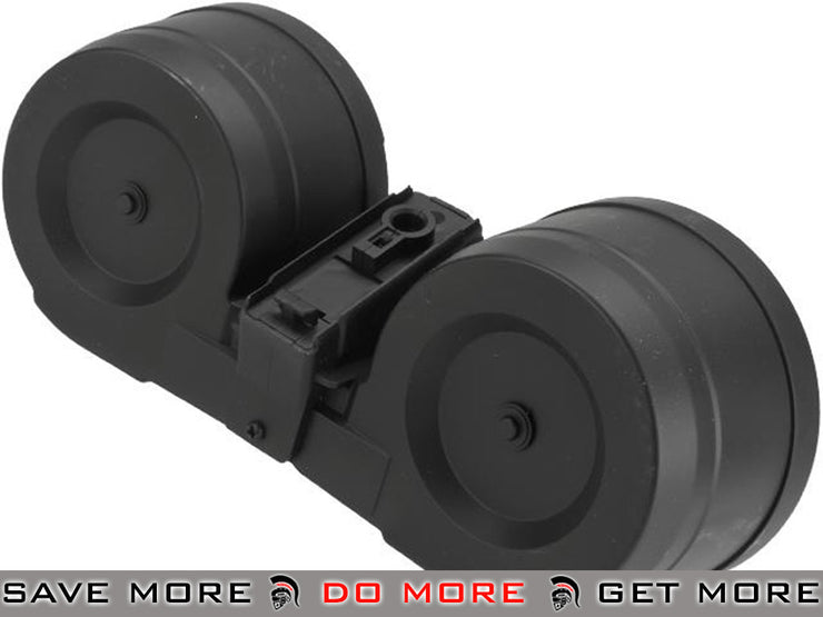 A&K 3000rd Auto Winding/Sound Controlled C-Mag Magazine for G3 Series Airsoft AEG Electric Gun Magazine- ModernAirsoft.com