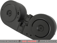 Matrix 2500rd Electric Auto Winding Drum Magazine for MP5 Series Airsoft AEG Electric Gun Magazine- ModernAirsoft.com