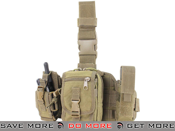 Condor Utility Leg Rig (Tan) Others / Pouch Accessories- ModernAirsoft.com