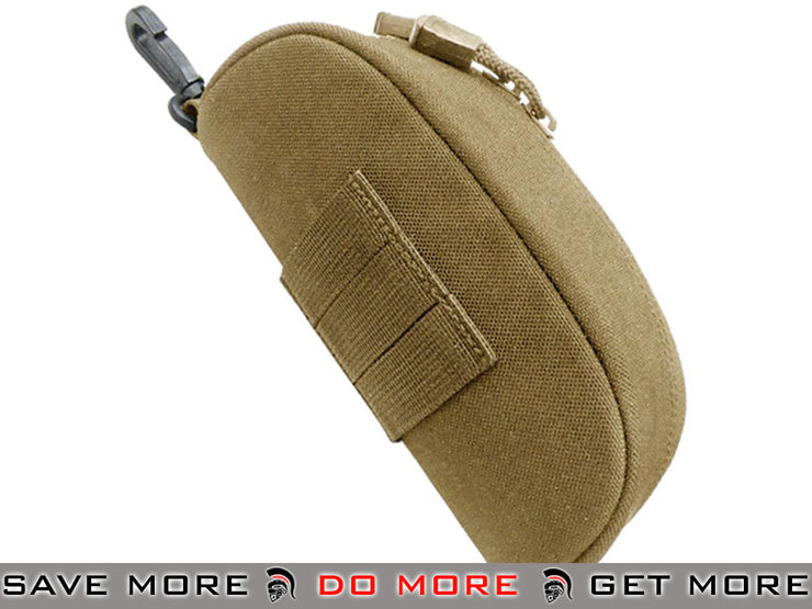 Condor Tactical Sunglasses Case (Tan) Eyewear Accessories- ModernAirsoft.com