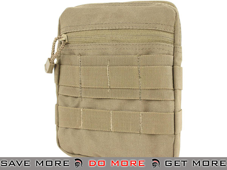 Condor General Purpose Pouch (Tan) Others / Pouch Accessories- ModernAirsoft.com