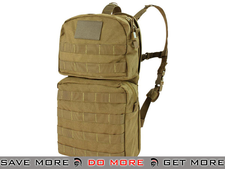 Condor Coyote MOLLE Hydration Carrier II Backpacks- ModernAirsoft.com