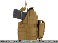 Condor Coyote Brown Ambidextrous Holster for 1911 Series Pistols Holsters - Fabric- ModernAirsoft.com
