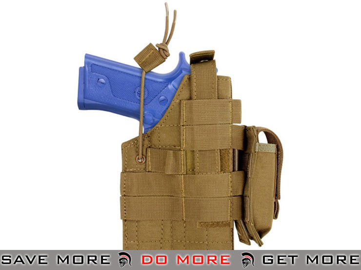 Condor Coyote Brown Ambidextrous Holster for Beretta M9 Series Pistols Holsters - Fabric- ModernAirsoft.com