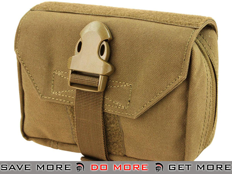 Condor Coyote Brown Tactical First Response Pouch Tan / Desert / Coyote / FDE- ModernAirsoft.com
