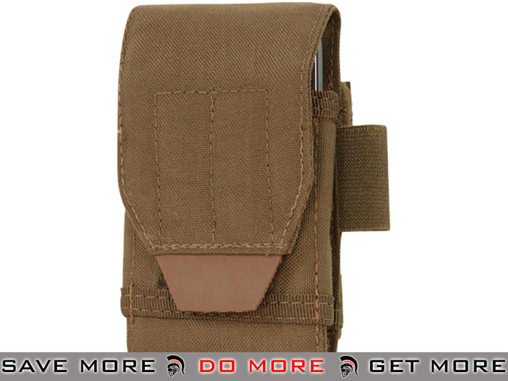 Condor Tech Sheath / Utility Pouch (Coyote Brown) Others / Pouch Accessories- ModernAirsoft.com
