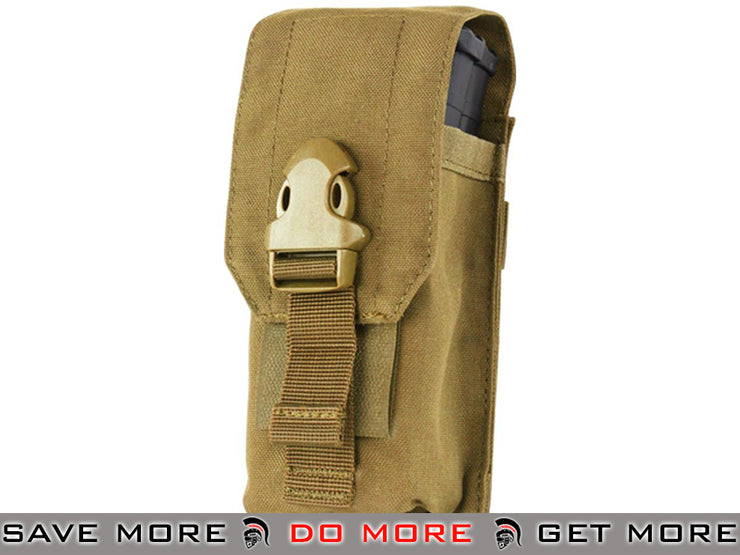 Condor Universal Rifle Magazine Pouch (Coyote) Ammo Pouches- ModernAirsoft.com