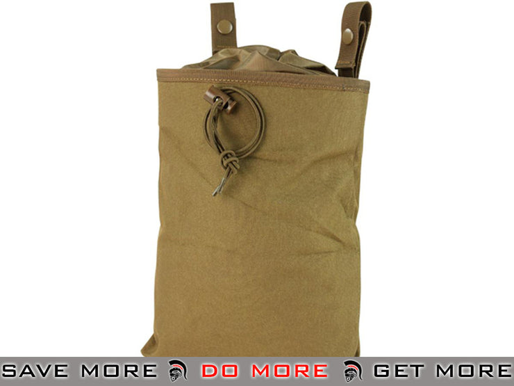 Condor Coyote 3 Fold Magazine Recovery Pouch / Dump Pouch Tan / Desert / Coyote / FDE- ModernAirsoft.com