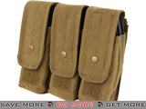 Condor Triple M4 / AK Magazine Pouch (Coyote) Others / Pouch Accessories- ModernAirsoft.com