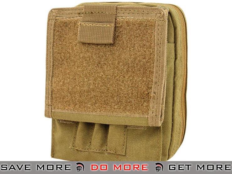 Condor Coyote MOLLE Multi-Purpose Map Pouch Tan / Desert / Coyote / FDE- ModernAirsoft.com