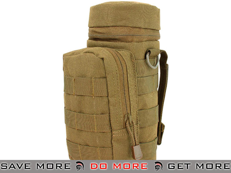 Condor Coyote Brown Tactical H2O Pouch Tan / Desert / Coyote / FDE- ModernAirsoft.com