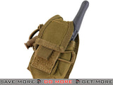 Condor Coyote Brown HHR (Hand Held Radio) Pouch Tan / Desert / Coyote / FDE- ModernAirsoft.com