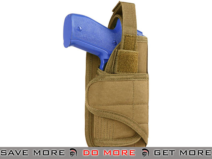 Condor Coyote Vertical MOLLE Ready Holster Holsters - Fabric- ModernAirsoft.com