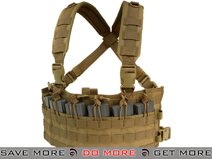 Condor Coyote Rapid Assault Chest Rig Chest Rigs & Harnesses- ModernAirsoft.com
