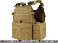 Condor Coyote Modular Operator Plate Carrier Coyote Brown