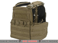 Crye Precision CAGE Plate Carrier and Plate Pouch Set - Coyote  (Medium) Tan / Desert- ModernAirsoft.com