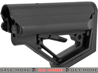 CTS Carbine Battery Stock for M4 M16 Series Rifles by 6mmProShop (Model: Black / Stock Only) Stocks- ModernAirsoft.com