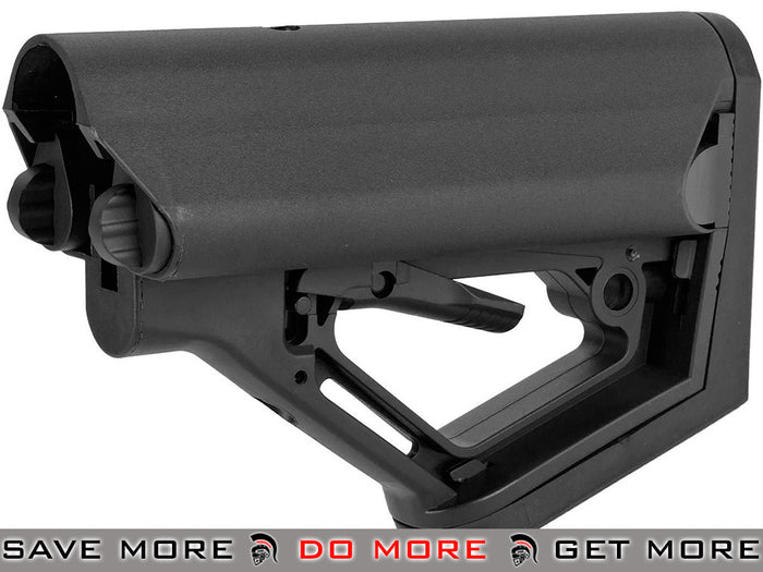 CTS Carbine Battery Stock for M4 M16 Series Rifles by 6mmProShop (Model: Black / Stock Only)