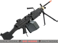 A&K M249 MKII Full Metal SAW Airsoft AEG Powered by Wolverine Inferno HPA Engine M60 / M249 / MK46 / M240- ModernAirsoft.com