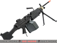 A&K Full Metal M249 MK II PARA Airsoft AEG Powered by Wolverine Inferno HPA Engine M60 / M249 / MK46 / M240- ModernAirsoft.com