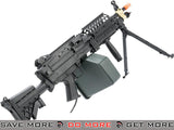 A&K MK46 Full Metal SAW Airsoft AEG Powered by Wolverine Inferno HPA Engine M60 / M249 / MK46 / M240- ModernAirsoft.com