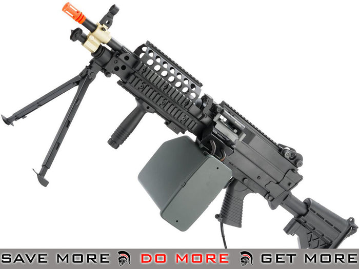 A&K MK46 Full Metal SAW Airsoft AEG Powered by Wolverine Inferno HPA Engine