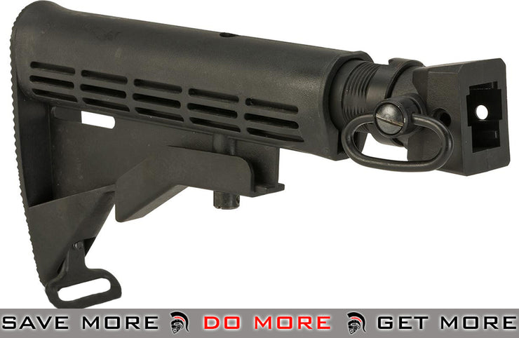 CYMA M4 Stock Adapter w/ LE Stock & QD Sling Swivel for AK Series Airsoft AEGs Stocks- ModernAirsoft.com