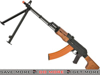CYMA Full Metal RPK Airsoft AEG w/ Bipod and Folding Stock (Wood Furniture) CYMA- ModernAirsoft.com