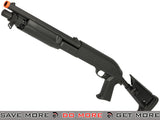 CYMA M3 3-Round Burst Multi-Shot Shell Loading Airsoft Shotgun (Retractable Stock / CQB) Airsoft Shotguns- ModernAirsoft.com
