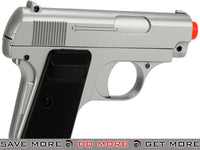 Double Eagle Airsoft Dual Pocket Pistol Set in Gun Case Air Spring Pistols- ModernAirsoft.com