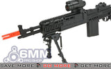 SAGE International Licensed  6mmProShop / ASG Full Metal M14 EBR Airsoft AEG Rifle M14 / M1A / SOC-16 / EBR- ModernAirsoft.com