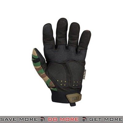 Mechanix Wear M-Pact Airsoft Gloves w/ TPR Knuckle Guard - Woodland Gloves- ModernAirsoft.com