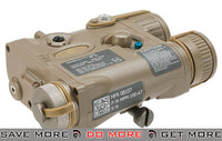 Element AN/PEQ-16A Style Airsoft LED Illuminator & Laser Combo - Tan PEQ Units- ModernAirsoft.com
