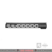 "PTS Airsoft Mega Arms Lightweight Wedge Lock M-Lok M4 / M16 14"" Handguard Rail - Black RIS / RAS / Rails- ModernAirsoft.com"