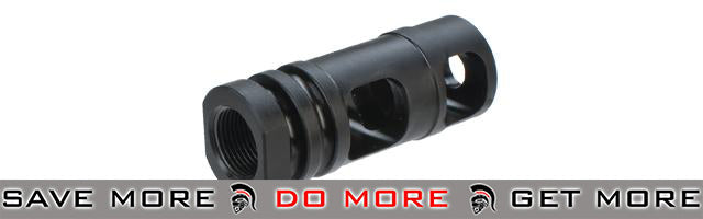 PTS M4SDII Airsoft Muzzle Brake - 14mm Positive Flash Hiders- ModernAirsoft.com