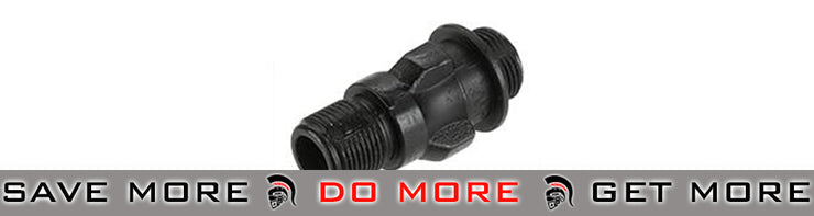 CYMA Replacement Threaded Flashhider / Muzzle  for MP5 Series Airsoft AEG Flash Hiders- ModernAirsoft.com