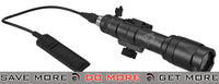 Bravo / Element Tactical CREE LED Scout Weapon Light w/ Pressure Pad - Black flashlight- ModernAirsoft.com