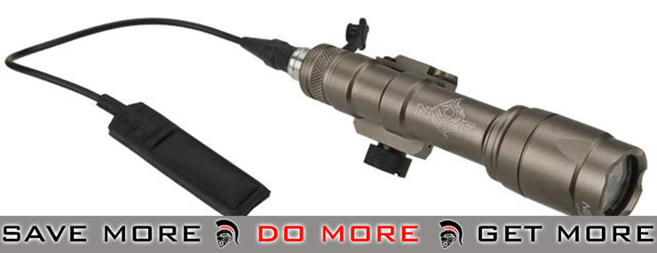 Bravo / Element Tactical CREE LED Scout Weapon Light w/ Pressure Pad - Dark Earth flashlight- ModernAirsoft.com