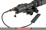 Night Evolution Airsoft Tactical CREE LED Scout V Weapon Light w/ Pressure Pad - Black flashlight- ModernAirsoft.com