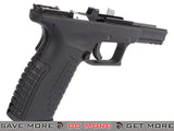 WE-Tech Complete Frame Assembly w/ Magazine for DM40 Airsoft GBB Pistol WE-Tech Parts- ModernAirsoft.com