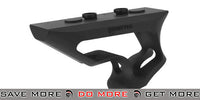 PTS® Fortis Shift™ CNC Machined Billet Aluminum Short Angled KeyMod Grip - Black Vertical Grips- ModernAirsoft.com