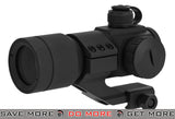 G&G Tactical Red/Green/Blue Dot with Cantilever Weaver Mount - Black Illuminated Scopes- ModernAirsoft.com