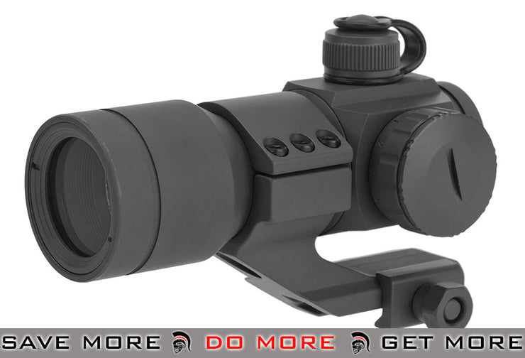 G&G Gray Tactical Red/Green/Blue Dot with Cantilever Weaver Mount Illuminated Scopes- ModernAirsoft.com