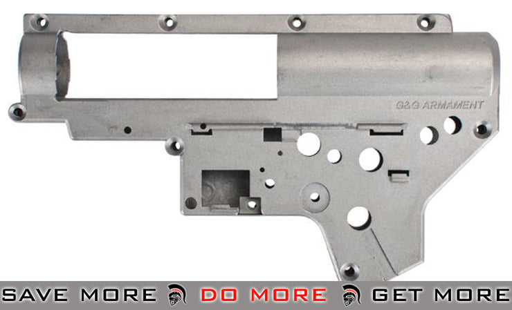 G&G Reinforced 8mm Airsoft AEG Gearbox for FNC Series Airsoft AEG Rifles Gearbox- ModernAirsoft.com