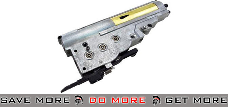 ICS Complete Gearbox for M3 Grease Gun Series Airsoft AEG Gearbox- ModernAirsoft.com