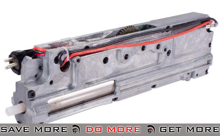 A&K / Matrix Fully Assembled Gearbox for PKM Series Airsoft AEG LMG A&K- ModernAirsoft.com