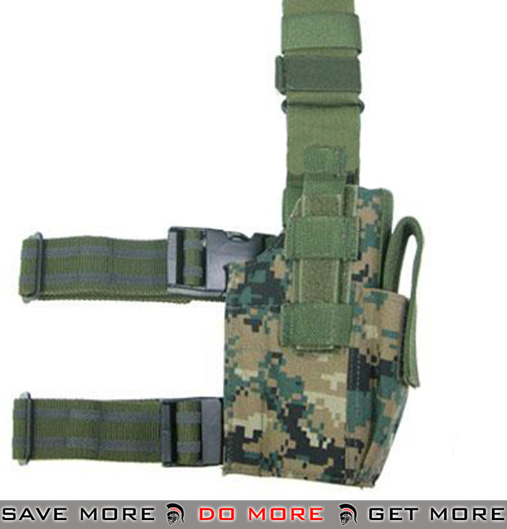 Guarder Hard Shell Fast Draw Tactical Holster - Digital Woodland Marpat Holsters - Fabric- ModernAirsoft.com